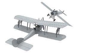 Airfix Fokker EII & RAF BE2C Dogfight Doubles Gift Set Plastic Model Airplane Kit 1/72 #50177