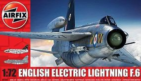 Airfix EE Lightning F6 Single-Seater Fighter Plastic Model Airplane Kit 1/72 Scale #5042