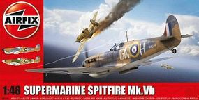 Airfix Supermarine Spitfire Mk VB Aircraft (New Tool) Plastic Model Airplane Kit 1/48 Scale #5125