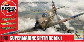 Airfix Supermarine Spitfire Mk I RAF Aircraft Plastic Model Airplane Kit 1/48 Scale #5126
