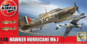 Airfix Hawker Hurricane Mk I Fighter Plastic Model Airplane Kit 1/48 Scale #5127