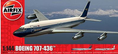 Airfix B707 Airliner -- Plastic Model Airplane -- 1/144 Scale -- #5171