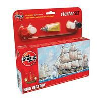 Airfix HMS Victory Sailing Ship (6L) Plastic Model Sailing Ship Kit #55104