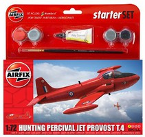 Airfix Hunting T3 Percival Jet Provost Plastic Model Airplane Kit 1/72 Scale #55116