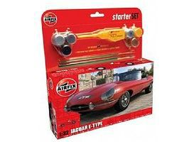 Airfix E TYPE JAGUAR Plastic Model Car Truck Vehicle Kit 1/32 Scale #55200