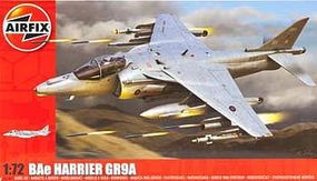 Airfix Medium Starter Set Harrier GR9 Plastic Model Airplane Kit 1/72 Scale #55300