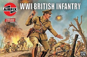 Airfix 1/72 WWI British Infantry Figure Set (Re-Issue)