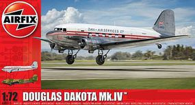 Airfix Douglas Dakota Civilian Aircraft (New Tool) Plastic Model Airplane Kit 1/72 Scale #8015
