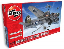 Airfix Boeing B17G Flying Fortress USAAF Bomber (New Tool) Plastic Model Airplane Kit 1/72 #8017