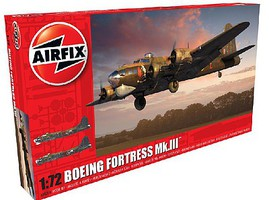 Airfix B17G Flying Fortress Mk III Bomber Plastic Model Airplane Kit 1/72 Scale #8018