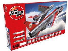 Airfix EE Lightning F1/F1A/F2/F3 Interceptor Aircraft Plastic Model Airplane Kit 1/48 Scale #9179