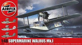 Airfix Supermarine Walrus Mk I Plastic Model Airplane Kit 1/48 Scale #9183