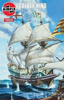 Airfix 1/72 Golden Hind Sailing Ship (Re-Issue)