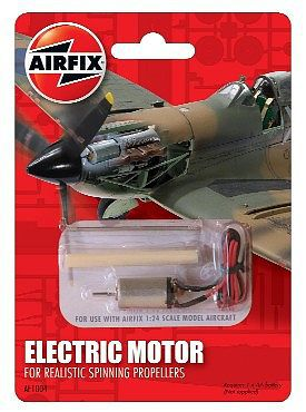Electric motor for spinning propellers plastic model for Model aircraft electric motors