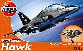Airfix BAe Hawk Fighter Quick Build Plastic Model Airplane Kit #j6003