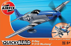 Airfix Quick Build Mustang D-Day Fighter (Snap)