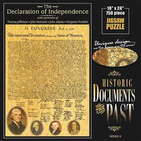 Americana Declaration Of Independence Jigsaw Puzzle 600-1000 Piece #70132