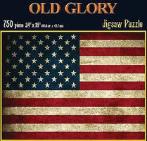 Americana Old Glory Jigsaw Puzzle 600-1000 Piece #70199