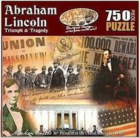 Americana Historic Collage- Abraham Lincoln Triumph & Tragedy Jigsaw Puzzle 600-1000 Piece #95360