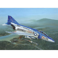 F-4J PHANTOM II Plastic Model Airplane Kit 1/72 Scale #0411