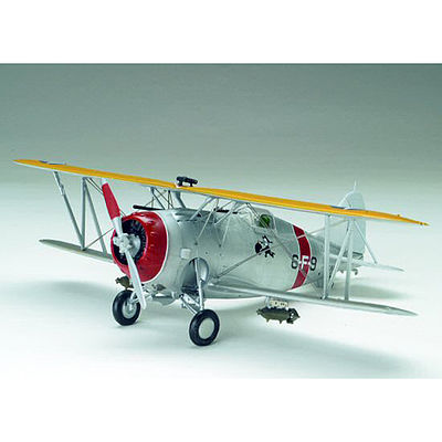 Accurate Miniatures F3F-1 Biplane -- Plastic Model Airplane Kit -- 1/48 Scale -- #533413