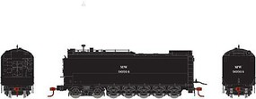Athearn HO RTR Service Tender, MOW/Black #90914