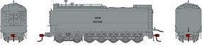 Athearn HO RTR Service Tender, MOW/Silver #189366