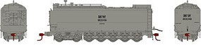 Athearn HO RTR Service Tender, MOW/Grey #90049