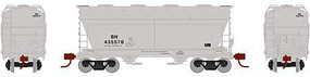Athearn N ACF 2970 Covered Hopper, BN #435570
