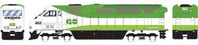 Athearn HO RTR F59PHI, GO Transit #662