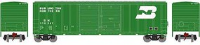 Athearn N 50' FMC Double Door Box, BN #370287