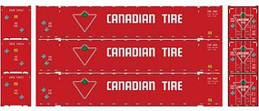 Athearn HO RTR 53 Jindo Container, Canadian Tire (3)