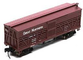 Athearn N 36 Old Time Stock Car, GN #58021
