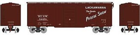 Athearn HO RTR 40' Superior Door Box, DL&W #54376