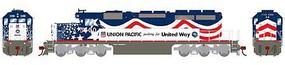 Athearn HO RTR SD40-2, UP/United Way #3300