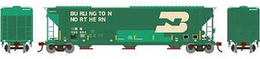 Athearn HO RTR FMC 4700 Covered Hopper, BN #459654