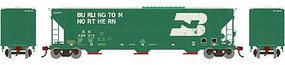 Athearn HO RTR FMC 4700 Covered Hopper, BN #460313