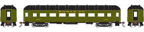 Athearn HO RTR Arch Roof Coach, SF #3069
