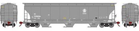 Athearn HO RTR Trinity 3-Bay Covered Hopper, IC #799896