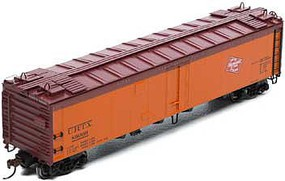 Athearn HO RTR 50 Ice Bunker Reefer, MILW #89009