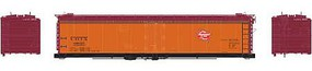 Athearn HO RTR 50 Ice Bunker Reefer, MILW #89025
