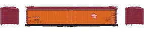 Athearn HO RTR 50' Ice Bunker Reefer, MILW #89042