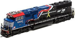Athearn HO SD60E, NS/Honoring Our Veterans #6920