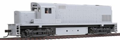 Atlas Alco C420 Phase 2B Standard DC Undecorated -- HO Scale Model Train Diesel Locomotive -- #10000005