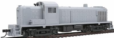 Atlas ALCo RS-3 Powered Undecorated -- HO Scale Model Train Diesel Locomotive -- #10000062