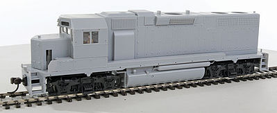 Atlas GP38 Sl without Decoder LN Undecorated -- HO Scale Model Train Diesel Locomotive -- #10000095