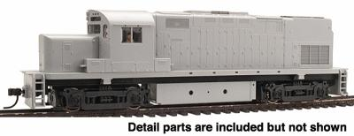 Atlas Alco C420 Phase I High Nose Undecorated -- HO Scale Model Train Diesel Locomotive -- #10000100