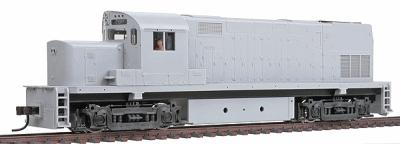 Atlas Alco C420 Phase 2B Low Nose Undecorated -- HO Scale Model Train Diesel Locomotive -- #10000105