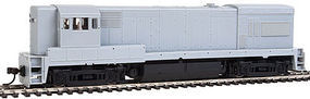 Atlas GE U30B Phase II High Nose - DC Undecorated HO Scale Model Train Diesel Locomotive #10000436