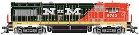 Atlas U30B Gold Nacionales de Mexico 9742 HO Scale Model Train Diesel Locomotive #10001184